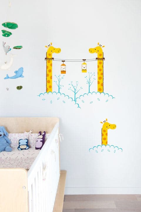 Make your walls beautiful without paint or wallpaper home plan it - Blik wall stickers ...