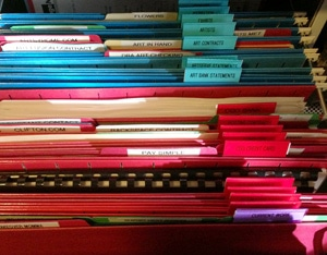 Home Office Filing System