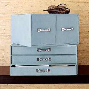 Storage Boxes from West Elm