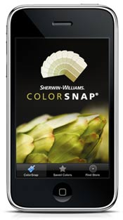 ColorSnap app by Sherwin-Williams